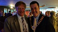 The Hills Mayor Andrew Jeffries at the Mayors Christmas function 2014
