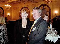 Alan Manly Managing Director Group Colleges Australia with Minister for Human Services Senator the Hon Marise Payne