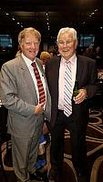 Alan Manly with President & Founder of The Gut Foundation Professor Terry Bolin