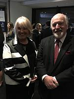 Professor Greg Whateley & with Libby Lyons Director of the Workplace Gender Equality Agency (WGEA)